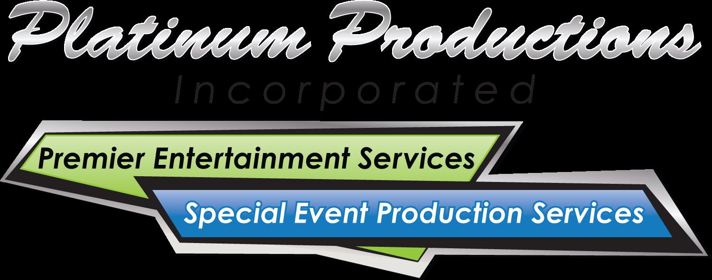 Platinum Productions, Incorporated Logo