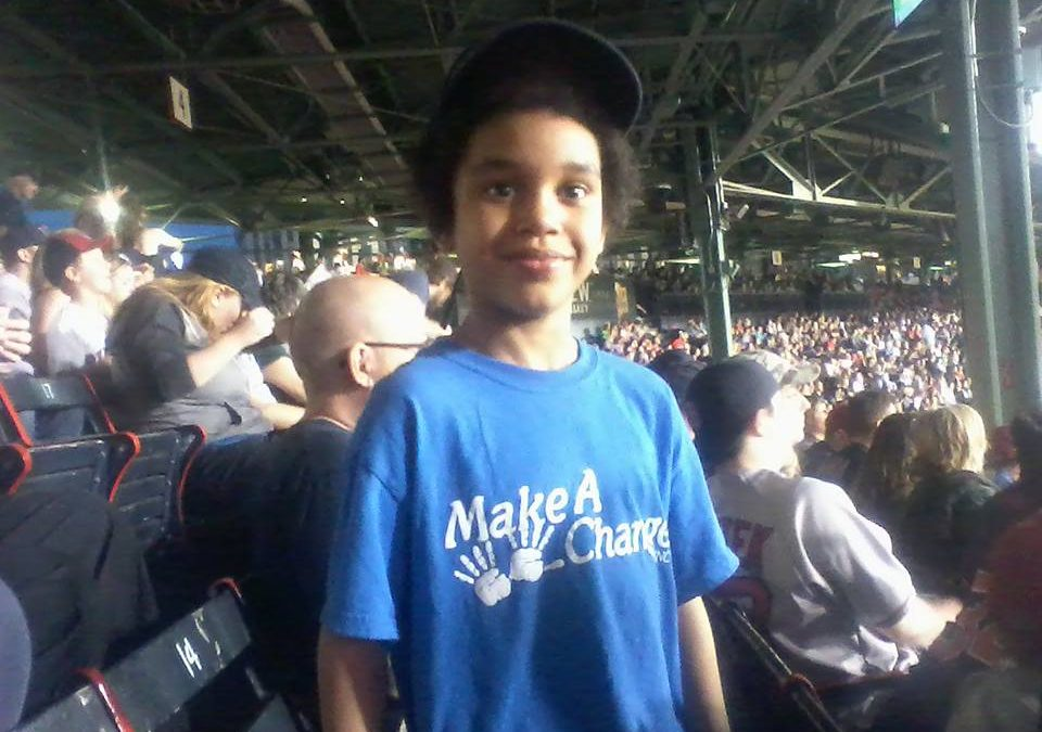 Fenway Park with Make-A-Change Inc.