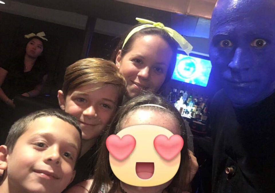 Blue Man Group Makes Foster Children Laugh Again!